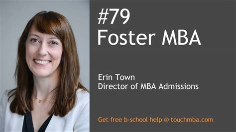 Foster School Of Business Mba Acceptance Rate by Of Washington Foster Mba Admissions