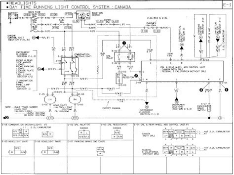 mazda b2200 wiring diagram mazda free engine image for