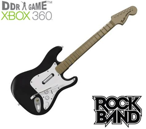 Guitar Now Available For Xbox 360 by Out Of Stock Rock Band Wireless Fender Guitar