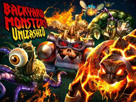 backyard monsters app backyard monsters unleashed by kixeye inc