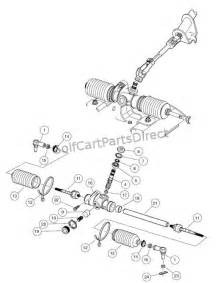 steering gear assembly club car parts amp accessories