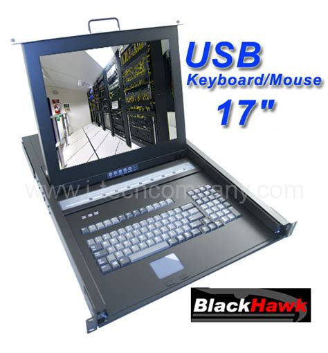 1u Keyboard Drawer by Lcd Keyboard Drawer 1u 17 Quot Rack Lcd Keyboard Usb Kvm