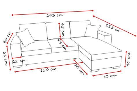 misura divano divano con penisola mod venere due cosmobil24 it