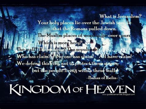 Movie Quotes Kingdom Of Heaven | kingdom of god movie quotes quotesgram