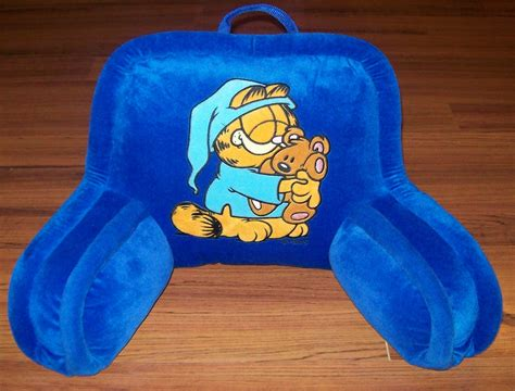 bed prop up pillow garfield blue prop up bed pillow decorative bed pillows