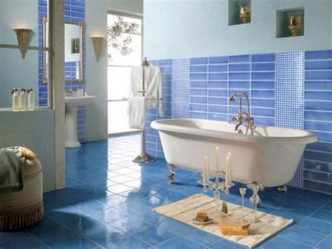 Blue Tile Bathroom Ideas | 35 blue marble bathroom tiles ideas and pictures
