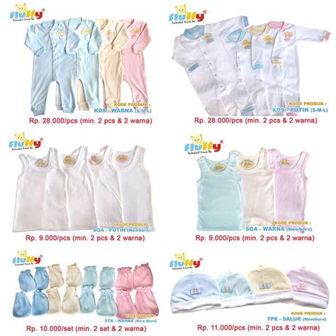 Pakaian Bayi Merk Fluffy Baju Bayi Fluffy Ibuhamil