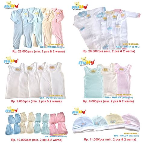Harga Baju Merk Hipo Baby baju bayi fluffy ibuhamil
