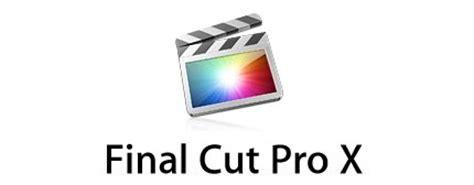 final cut pro logo dom aitken as media coursework