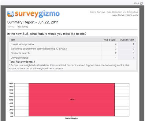 reports sle code sle survey report 28 images sle survey tools review