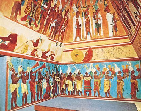 imagenes de murales mayas los murales mayas de bonak candidatos de chiapas a