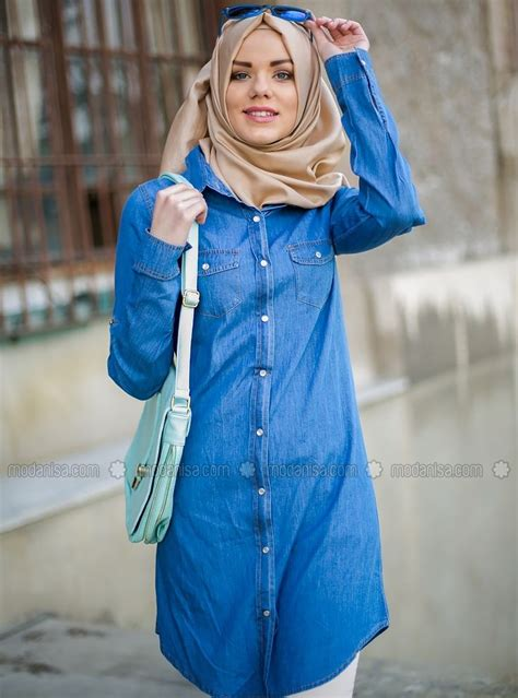 Zeza Tunik Cf 1 74 best 2015 箘lkbahar yaz denim images on styles moslem fashion and muslim