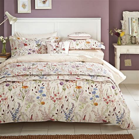 Quilt Cover by V A Blythe Meadow Quilt Cover Set Jarrold Norwich