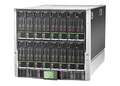 Hp Lenovo C6000 hpe blc7000 enclosure rack mountable up to 16 blades
