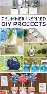 7 summer inspired diy projects work it wednesday no 152 the turquoise home