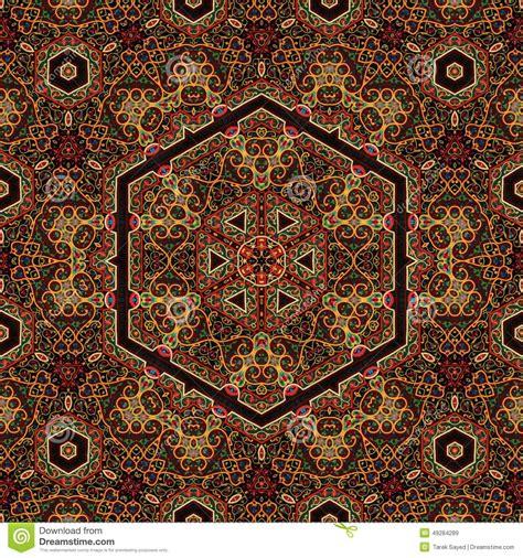 art pattern maker seamless khayameya pattern design 042 stock photo image