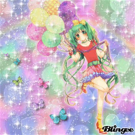 Imagenes Anime Con Movimiento   anime con palloncini fotograf 237 a 130977009 blingee com
