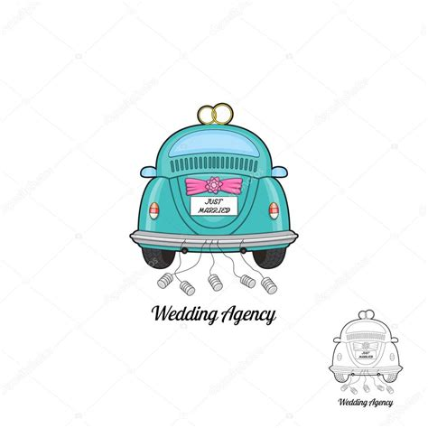 Wedding Car Logo by Concept Logo Of Wedding Agency And Services With Wedding