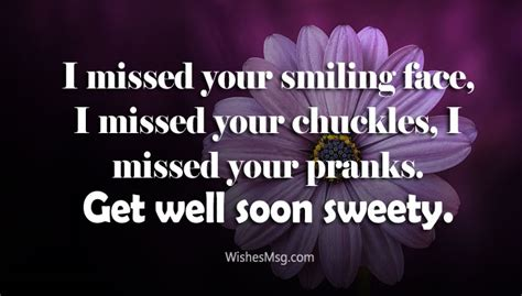 Get Well Soon Gf Quotes by Get Well Soon Message For Feel Better Wishes