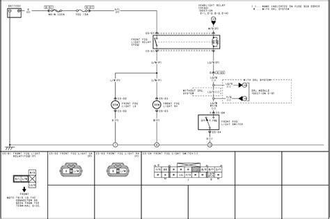 2007 mazda 3 fog wiring diagram fog free