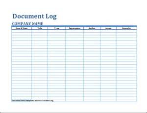 document template formal document log template word document templates