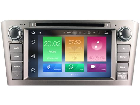android player device android 6 0 car audio dvd player for toyota avensis 2005