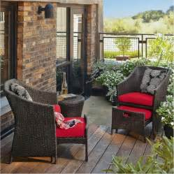 Porch Chair Set Loft 5 Wicker Patio Conversation Furniture Target