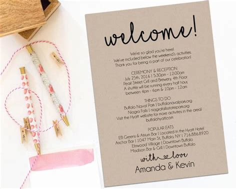 itenary template itenary template inspirational event schedule template welcome letter wedding itinerary printable welcome letter
