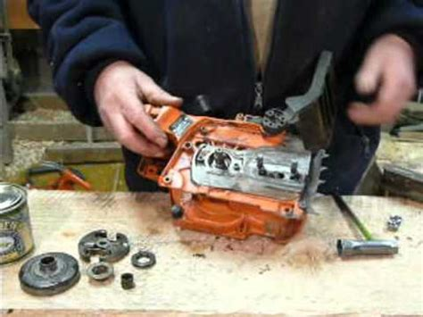 Husqvarna 435 Kettenschmierung Einstellen by Husqvarna Chain Leak Repair 346