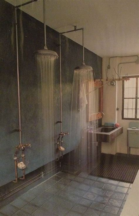 no walls 25 best ideas about industrial bathroom on pinterest