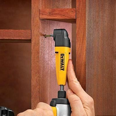 Dewalt Right Angle Drill Adapter Tight Spaces Corded