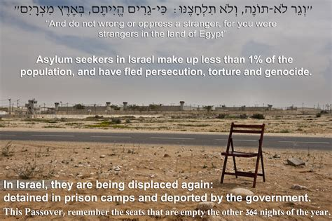 Passover Empty Chair by The Other 1 Percent On Refugees And Passover 972