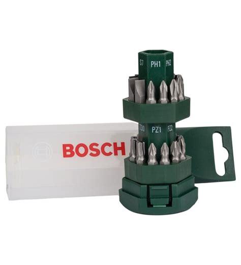Bosch Screwdriver Set bosch 2607019503 25 screwdriver set