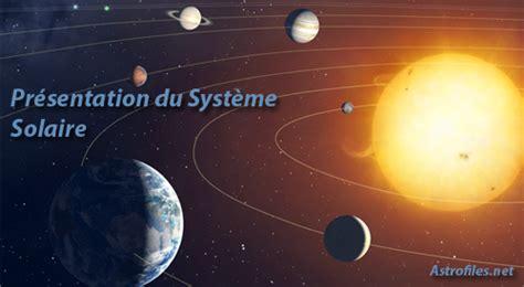 le solaire le syst 232 me solaire astrofiles