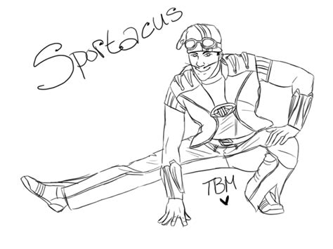lazy person coloring page sportacus by thebloodymess on deviantart