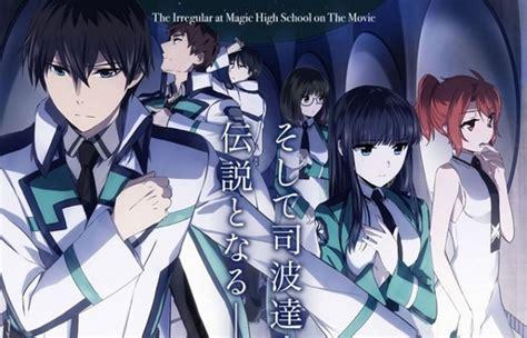 film anime motivasi movie anime mahouka koukou no rettousei hoshi wo yobu