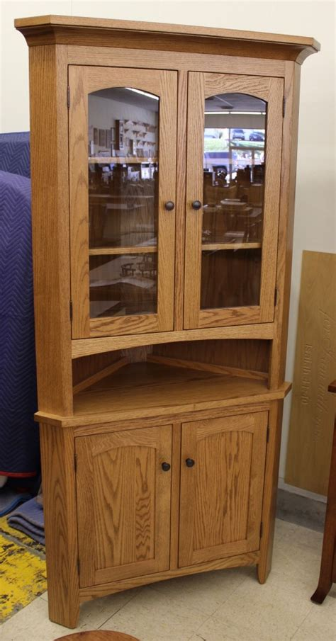 amish plymouth corner hutch 30 vienna corner hutch amish traditions wv