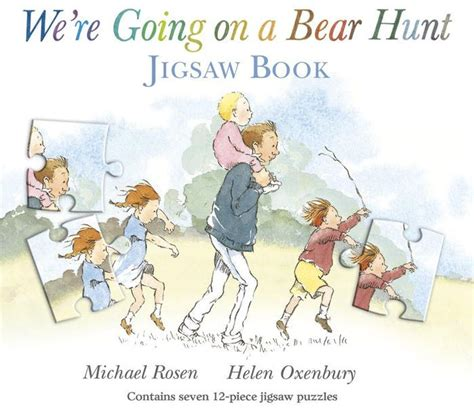 Bears Jigsaw Book we re going on a hunt jigsaw book by michael