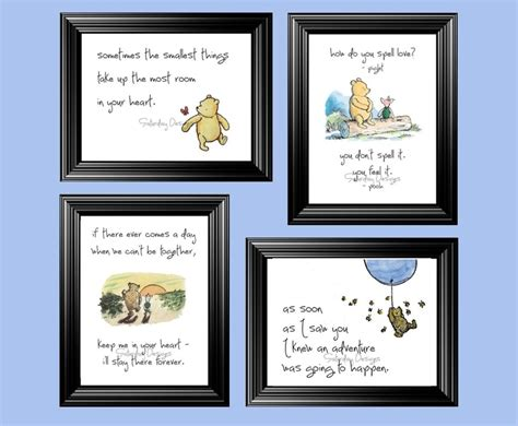 printable nursery quotes winnie the pooh quotes prints house stuff pinterest