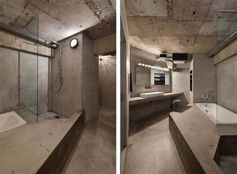 concrete apartments interior design a concrete apartment