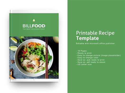 publisher recipe template microsoft publisher cookbook template recipe book