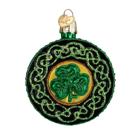 old world christmas celtic brooch ornament