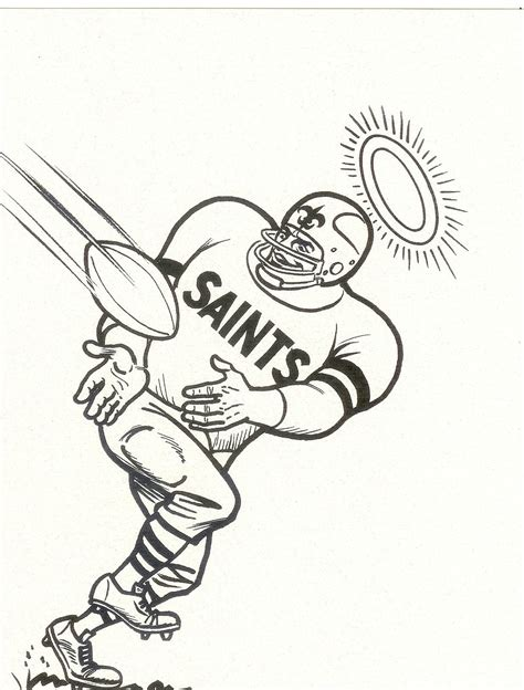nfl saints coloring pages new orleans saints coloring page coloring home