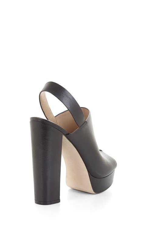 High Heel Peep Toe Sandals dune high heel leather peep toe sandal