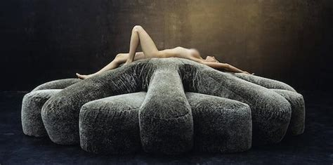 Unique Upholstery by Frameless Modern Sofas Made Of Soft Feather Filled Cushions