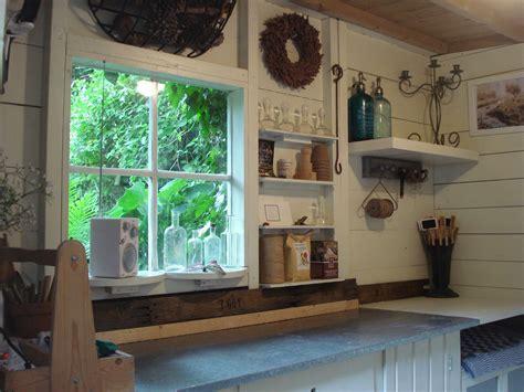 garden shed  potting shed shed interior