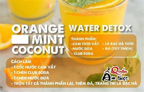 Cach Uong Colon Detox by C 225 Ch L 224 M C 225 C Loại Nước Uống Detox Giảm C 226 N Giải độc Cơ Thể