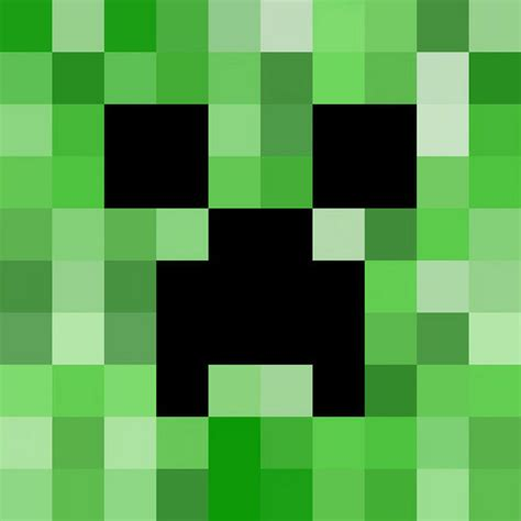 pixelated painting a watercolor minecraft creeper the
