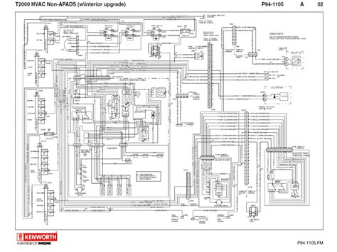 kenworth t400 wiring diagrams kenworth w900b wiring