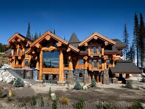What Makes A House A Tudor log post and beam home plans and designs pioneer log